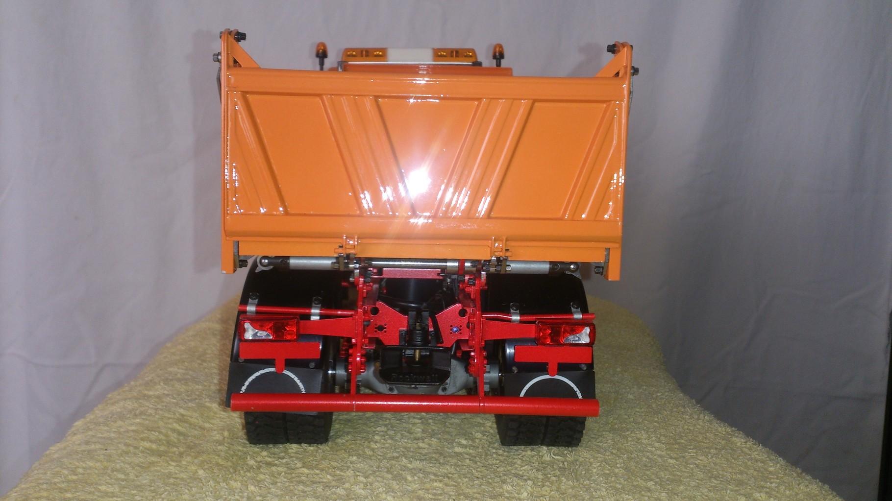 ScaleART MAN TGS 3軸3転ダンプトラック_後部