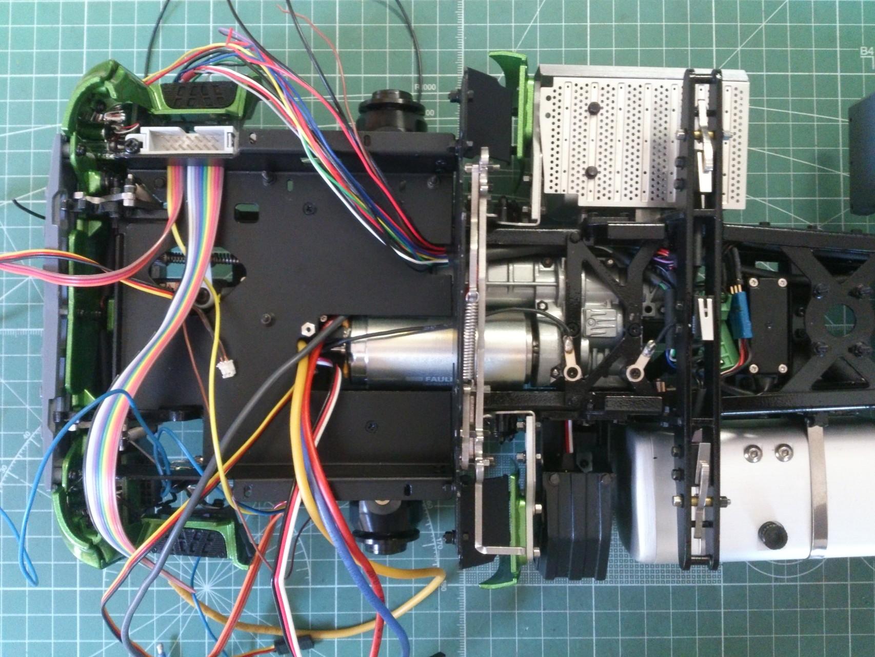 ScaleART アロクス_電装品取付板