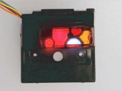 タミヤ製MAN TGXテールライトケースに装着した例