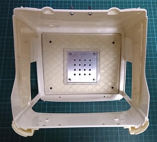 キャブ内照明用LED取付板