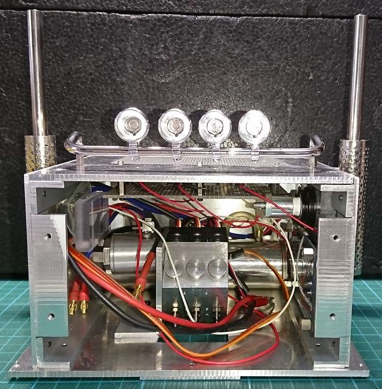 油圧ポンプの電装