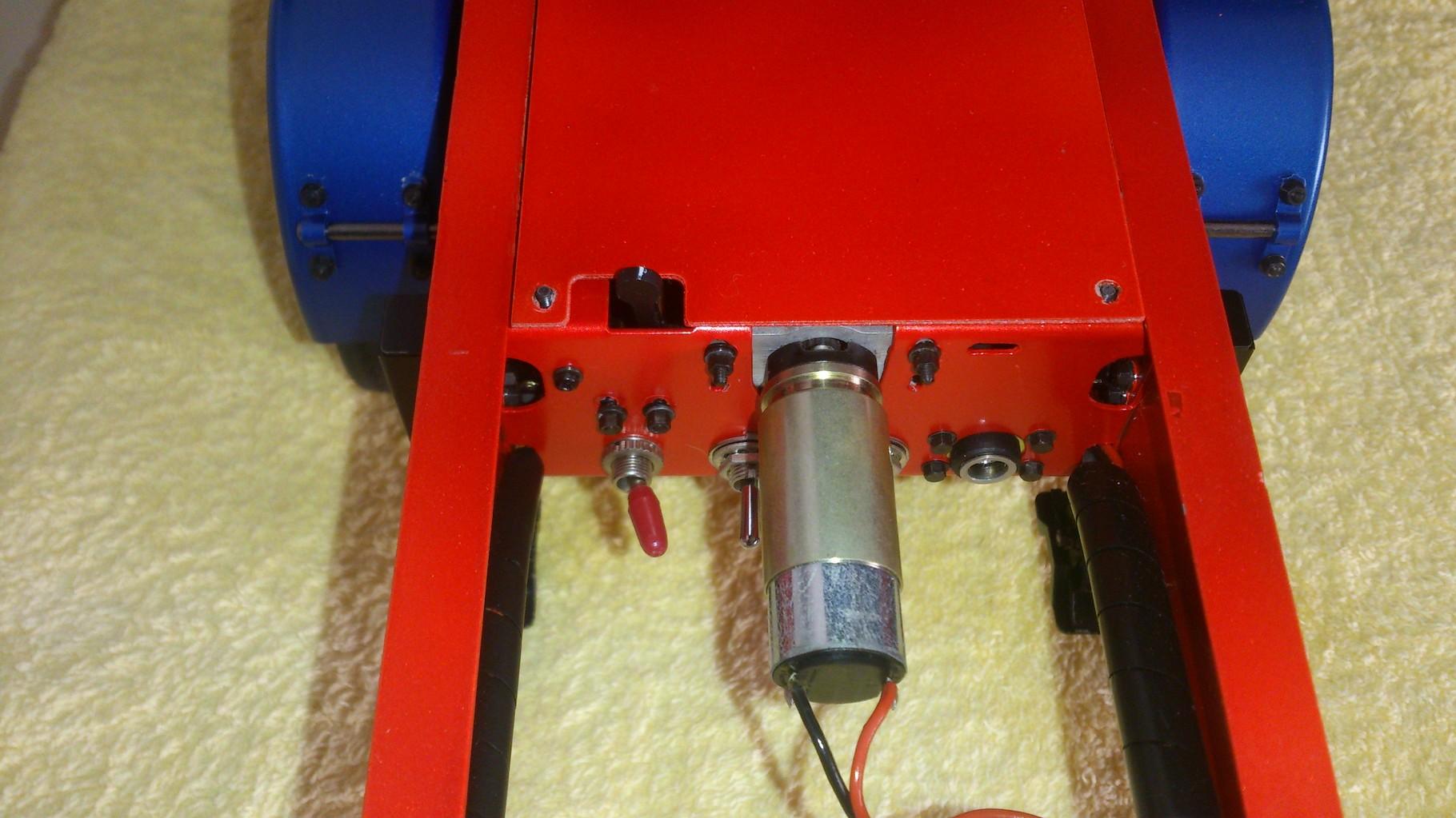 ScaleART ダンプトレーラー_ サポートレッグ用モーター