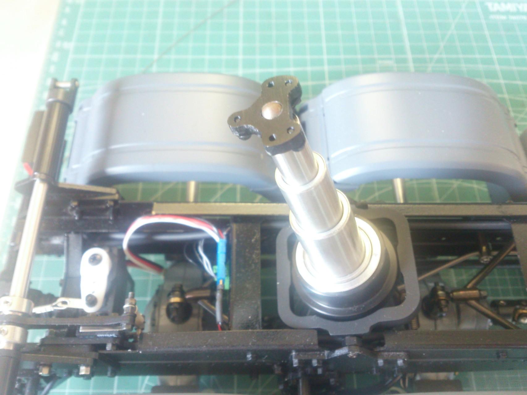 ScaleART アロクス_ダンプ用油圧シリンダー