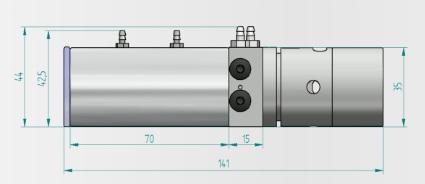 ツイン油圧ポンプの図面