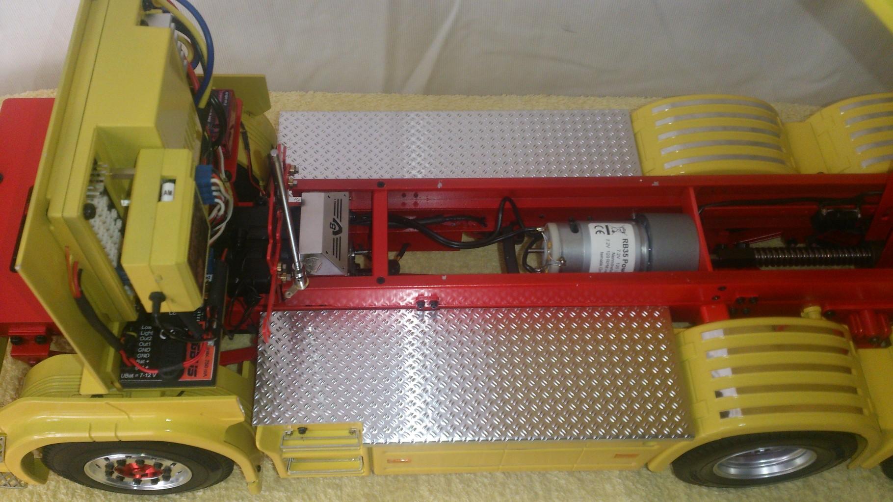 ダンプ用モーター