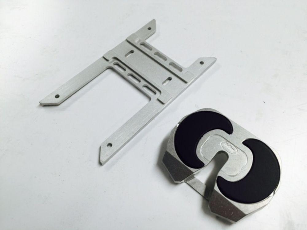 アルミ製トレーラージョイントの構成部品