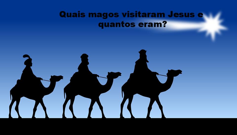 Quais magos visitaram Jesus e quantos eles eram?
