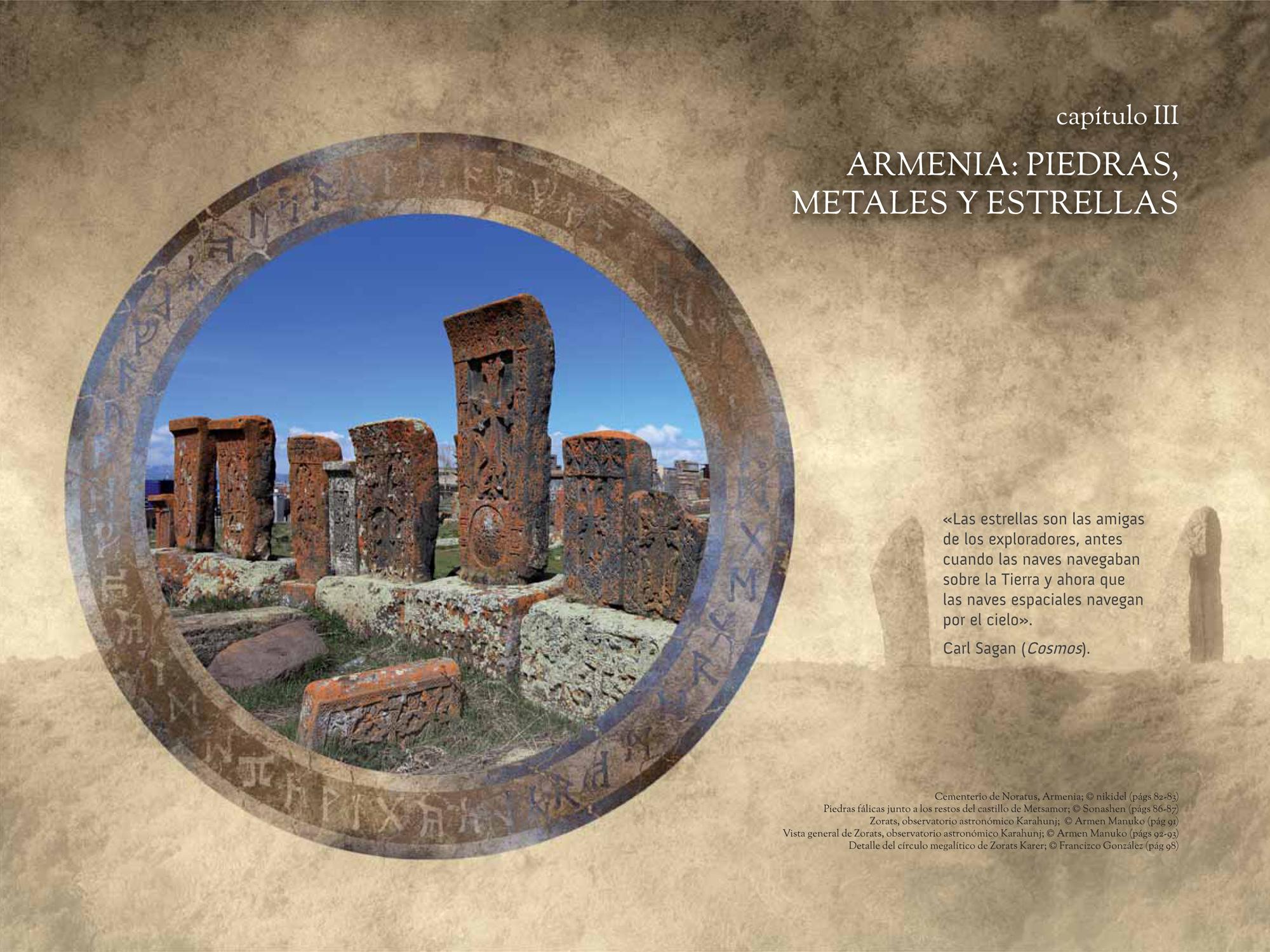 Capítulo III: ARMENIA: PIEDRAS, METALES Y ESTRELLAS