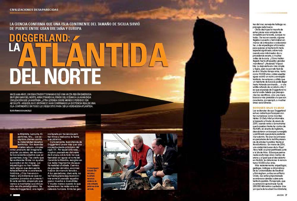 Doggerland: La Atlántida del Norte