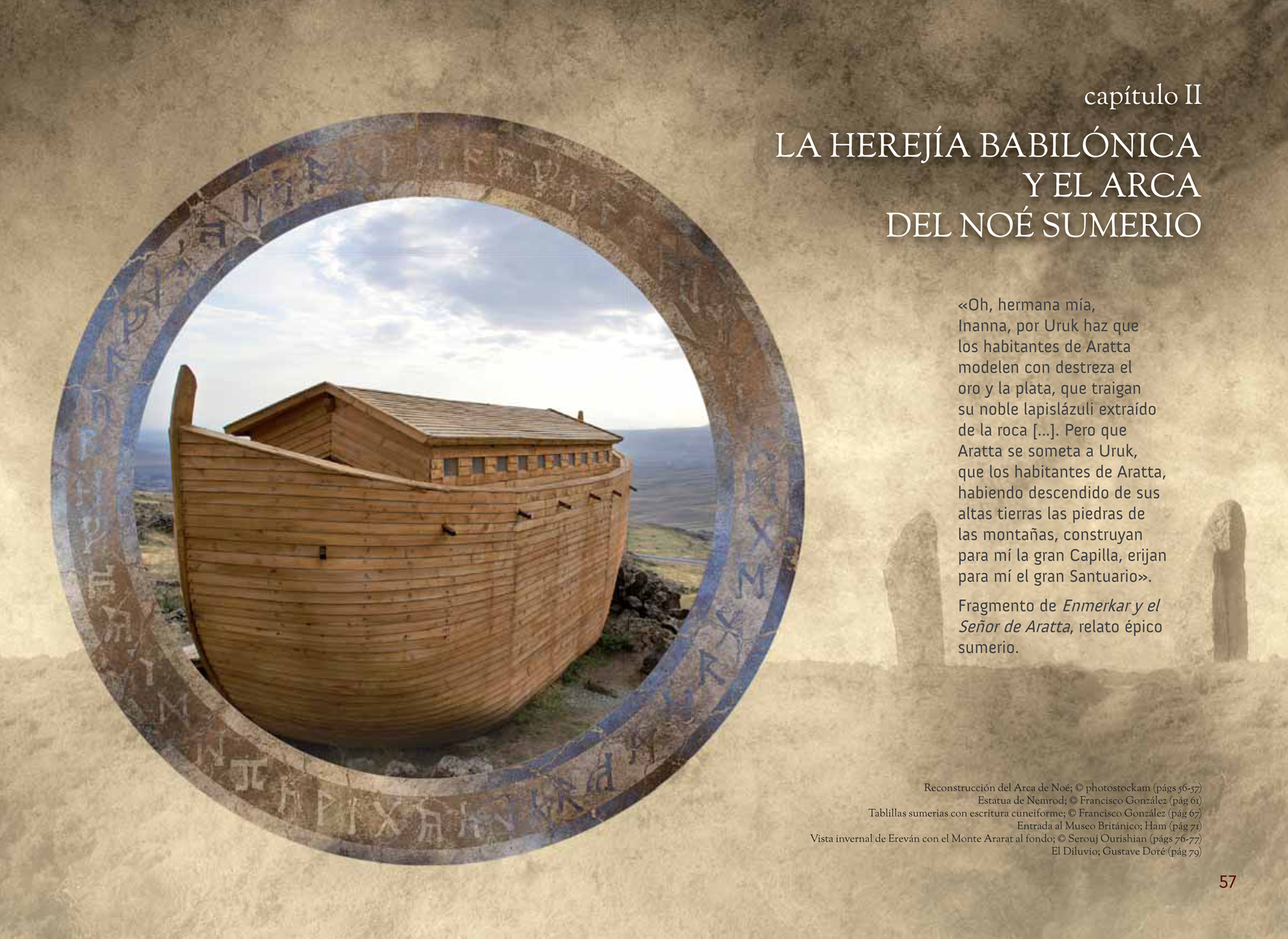 Capítulo II LA HEREJÍA BABILÓNICA Y EL ARCA DEL NOÉ SUMERIO