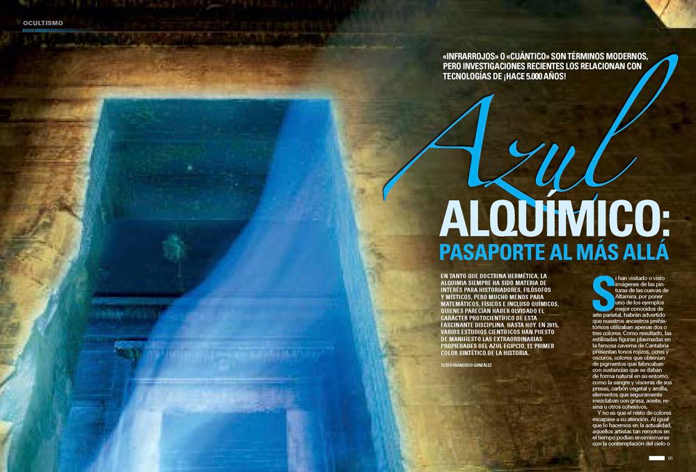 Azul Alquímico: Pasaporte Al Más Allá