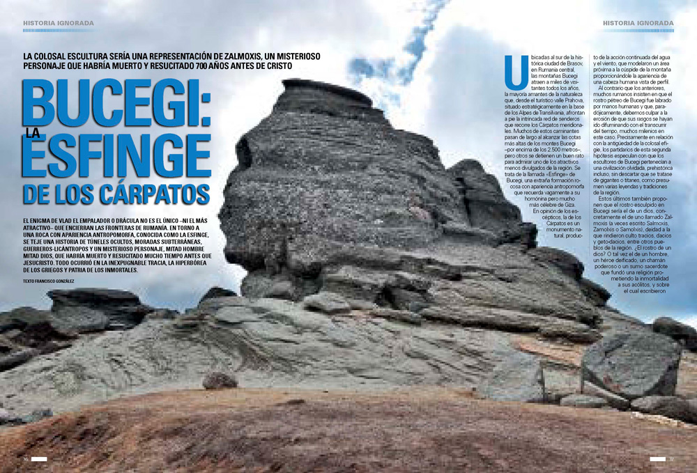 Bucegi: La Esfinge de los Cárpatos