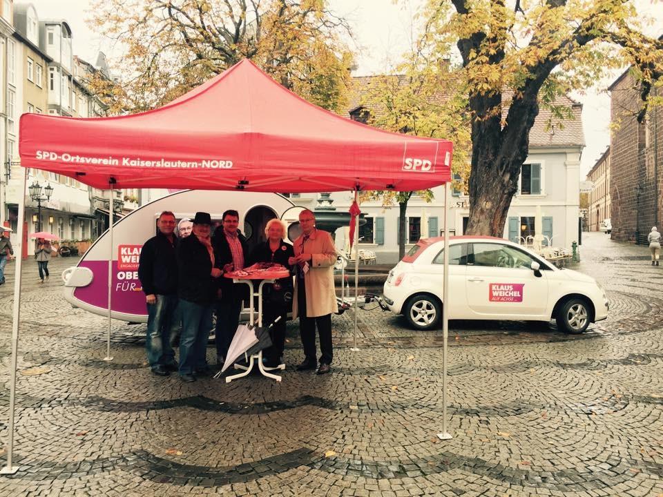 Wahlmobil in Kaiserslautern 2