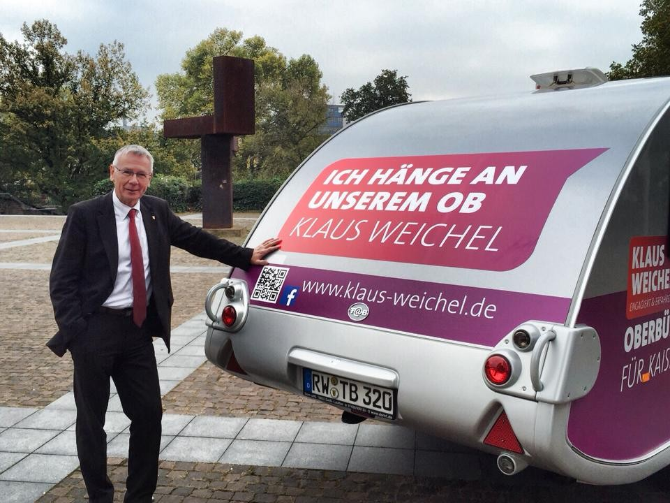 Wahlmobil in Kaiserslautern 1