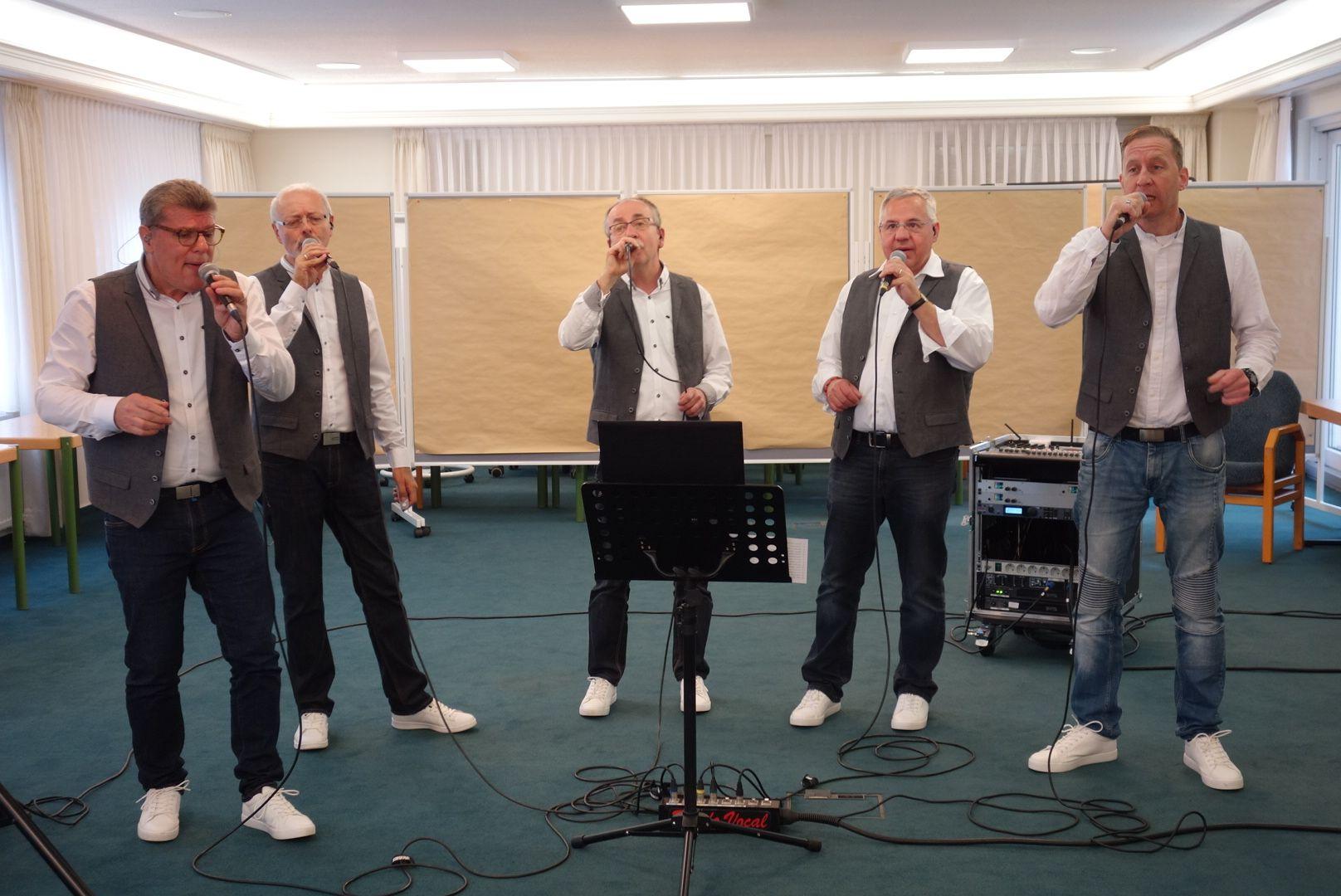 """Männervokalensemble A cappella-Quintett """"Rondo Vocal"""""""