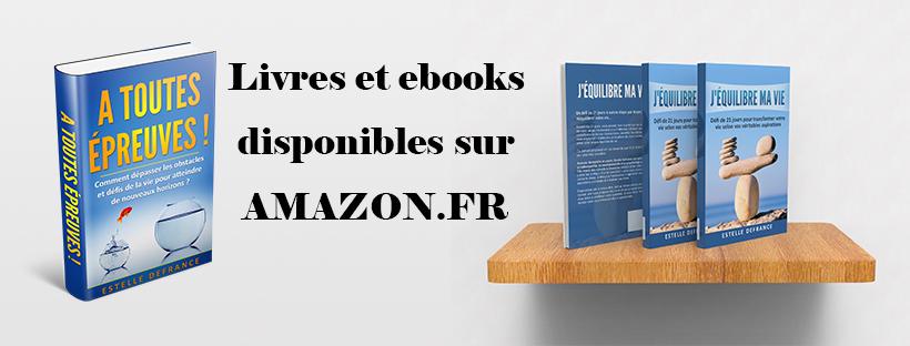 Livres d'Estelle Defrance - DISPONIBLES ICI...