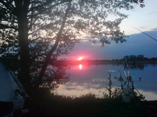 Sonnenuntergang Jabeler See