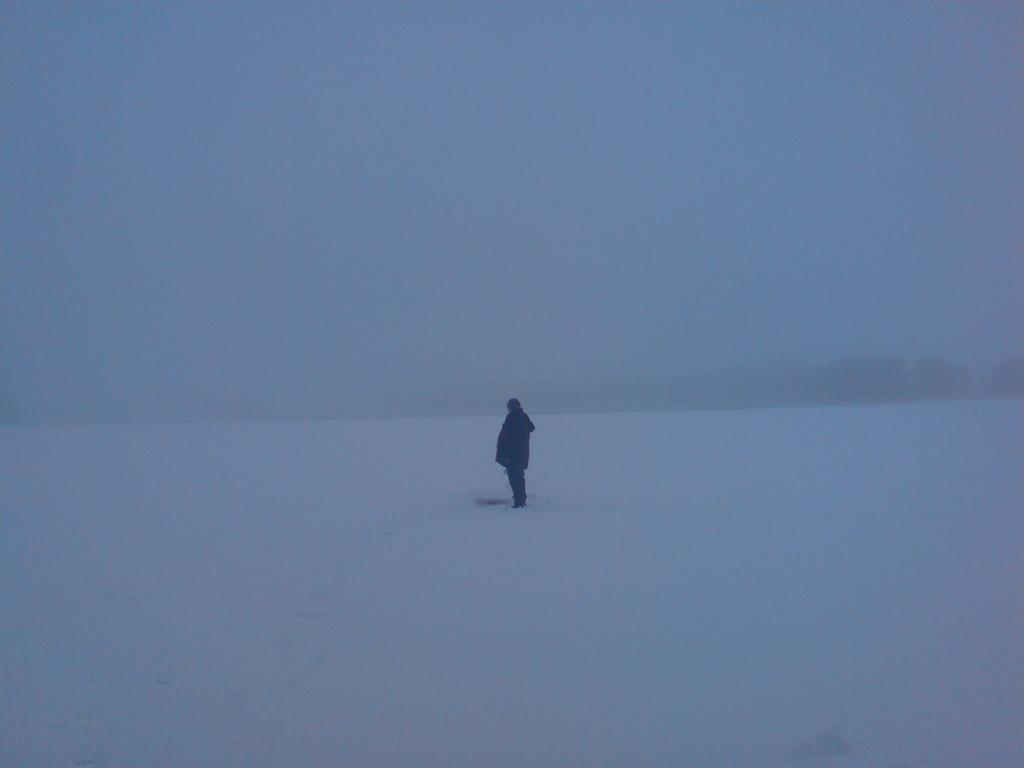 Winterbilder Beim Eisangeln