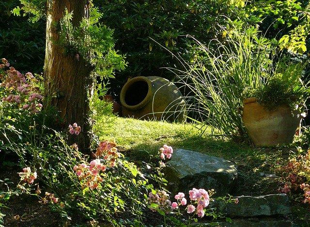 Natürliche Gartengestaltung - nichts leichter als das