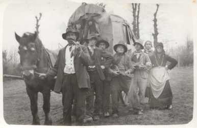 """Die """"Binninger Zigeuner"""" 1933"""
