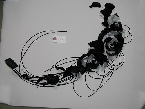 No 3-330 ショルダーコサージュ 素材:本絹羽二重 シルクオーガンジー サイズ:60cm ¥25.000