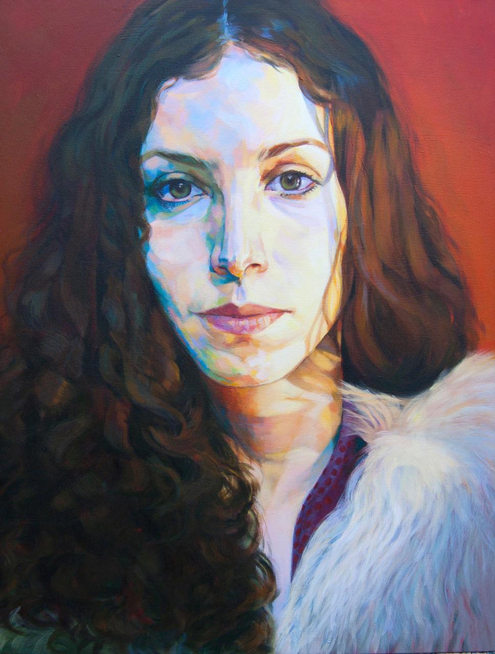 Nerea. Acrylic on canvas.