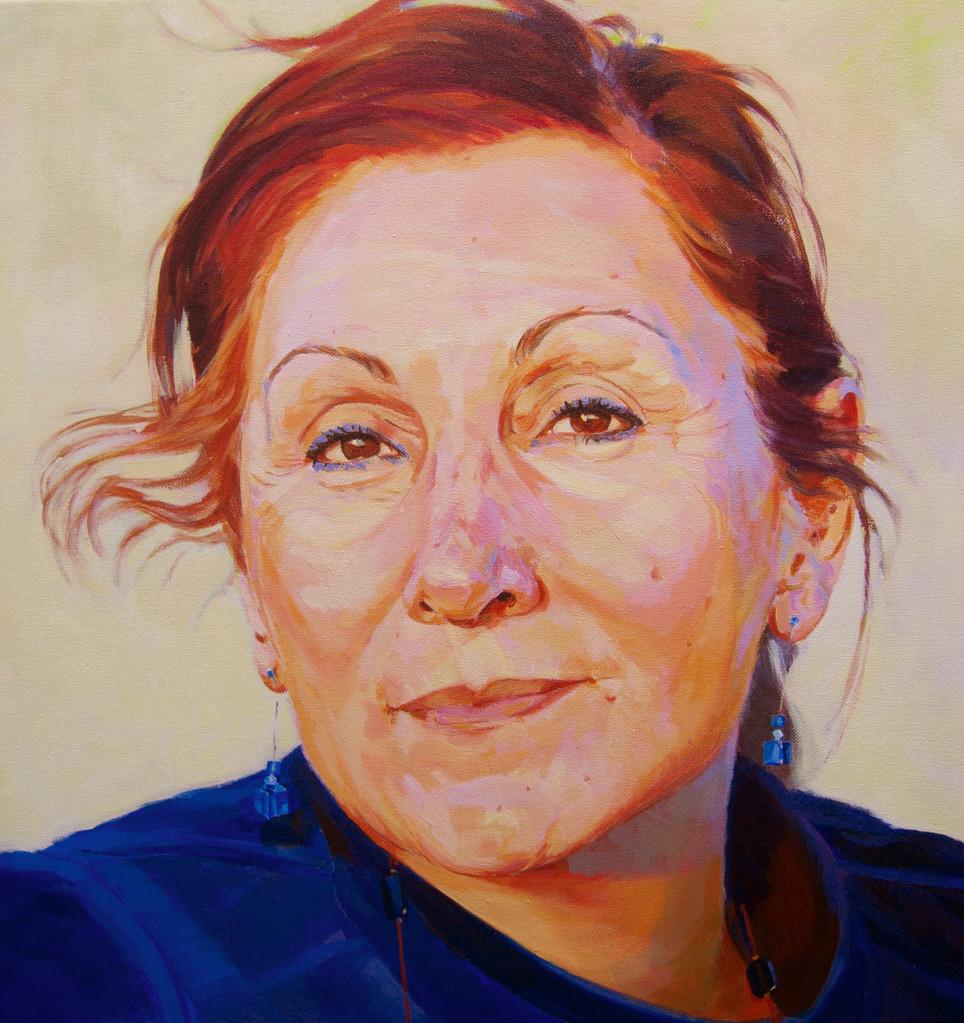 Begoña. Acrylic on canvas.