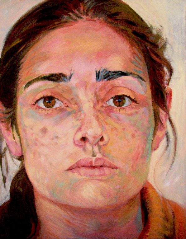 Maria. 145 x 115 cm. Oil on canvas.