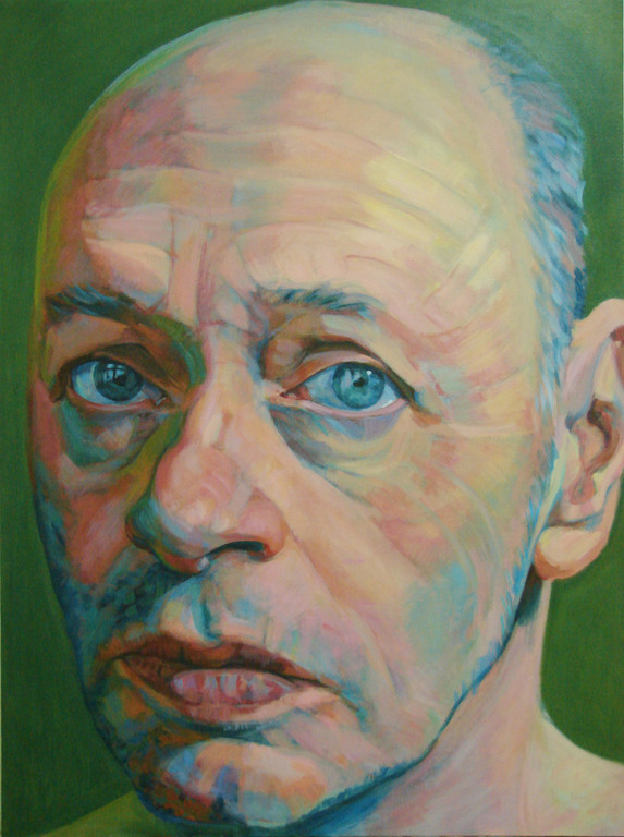Hanjo Schmidt. 130 x 97 cm. Acrylic on canvas.