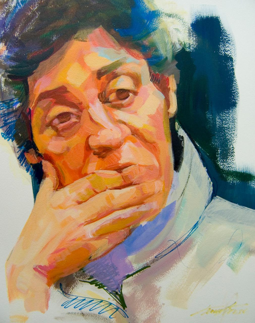 Mujer . Boceto
