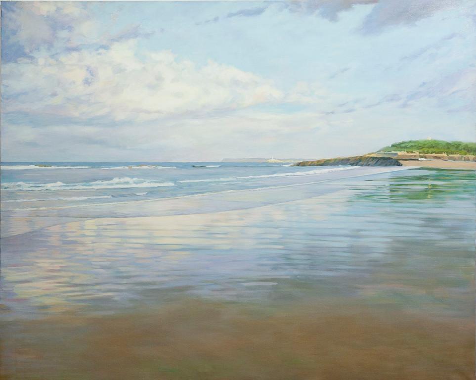 Playa del Sardinero. 162 x 130cm.