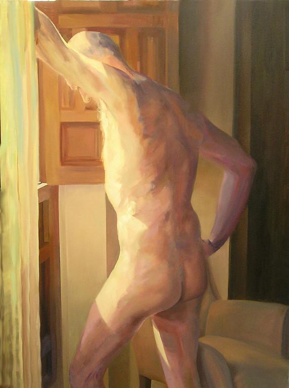 Los silencios de Raul. 130 x 97 cm. Oleo sobre lienzo.