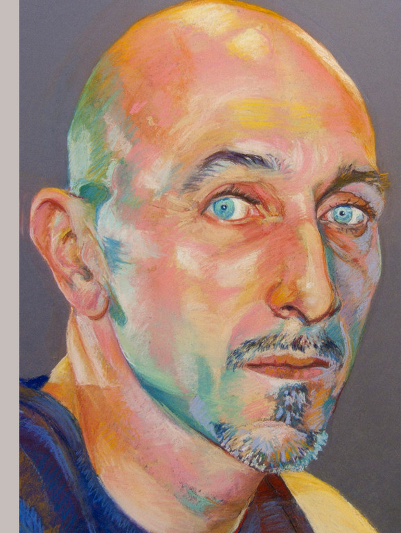 Miguel VI. Pastel on mi-teint paper.