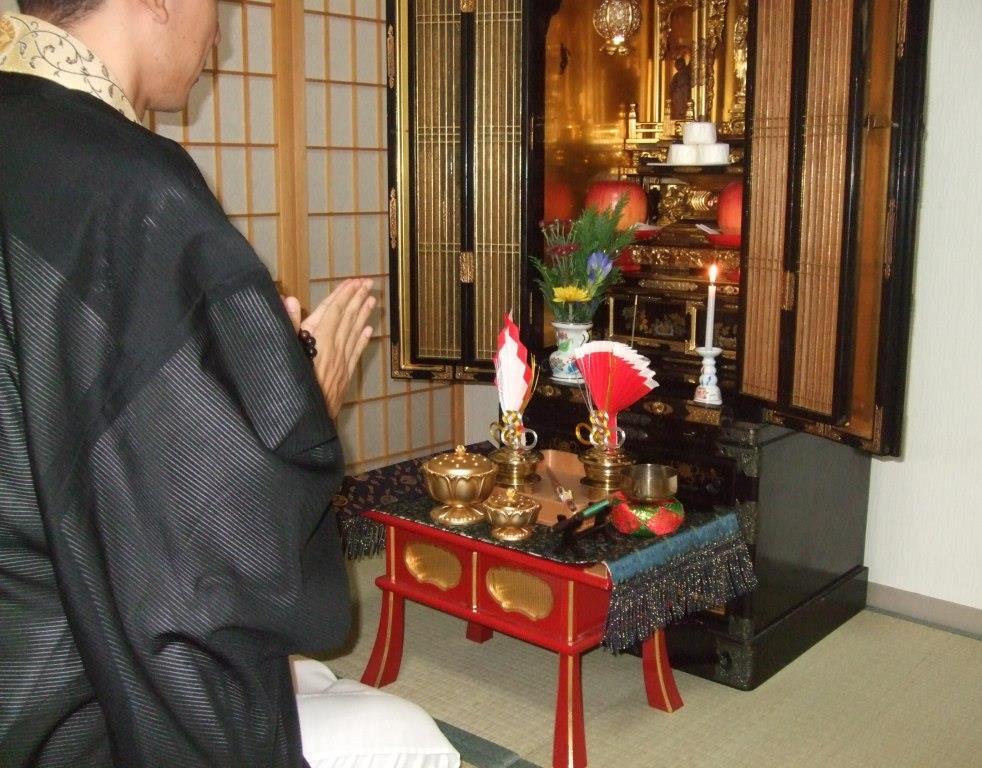 仏壇供養のメイン