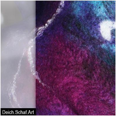 """Schal """"Exot"""" - Detail"""