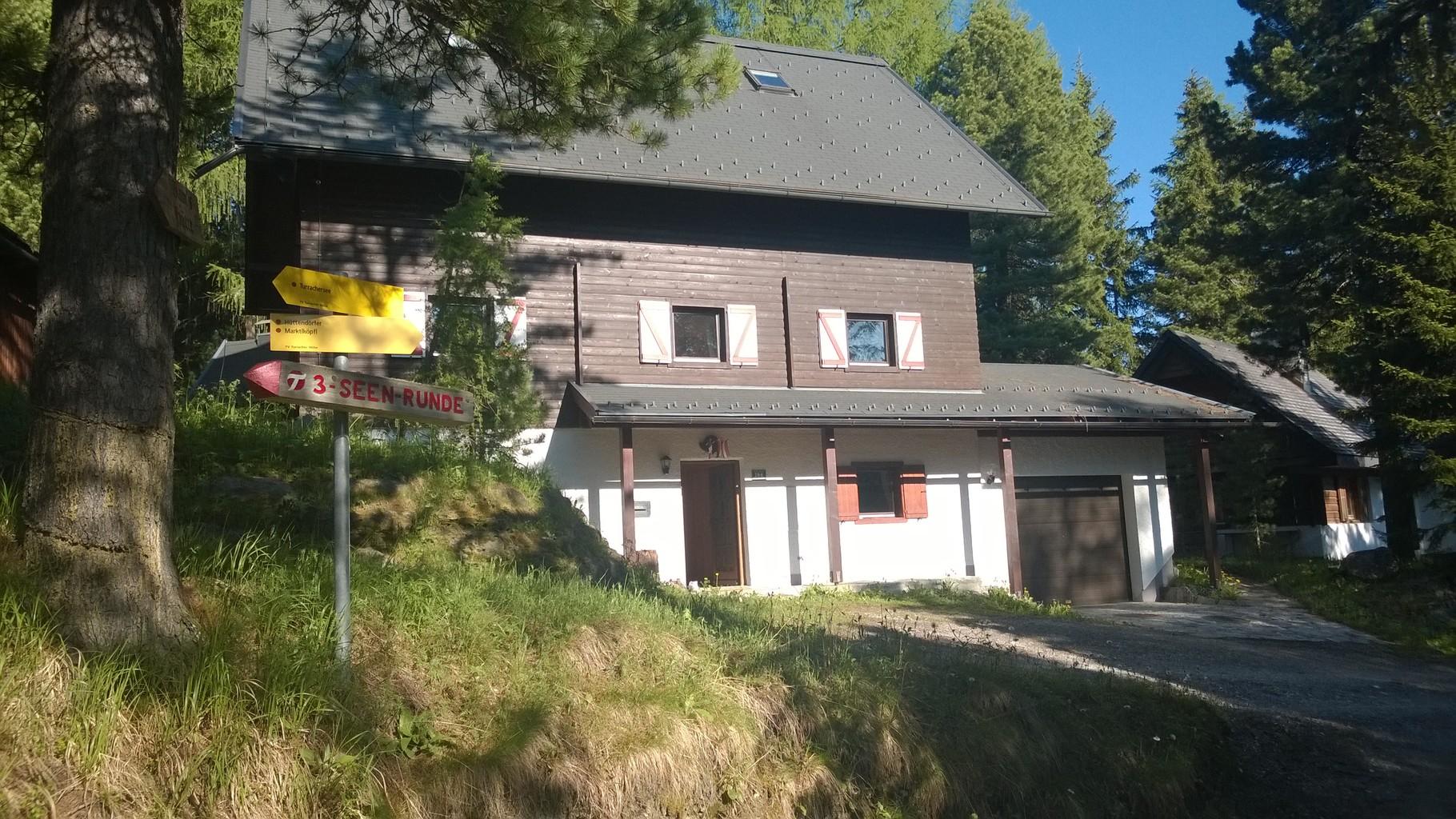 Zirbenwald Lodge - Sommeransicht