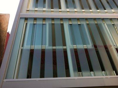 Fachada de vidrio U-GLAS
