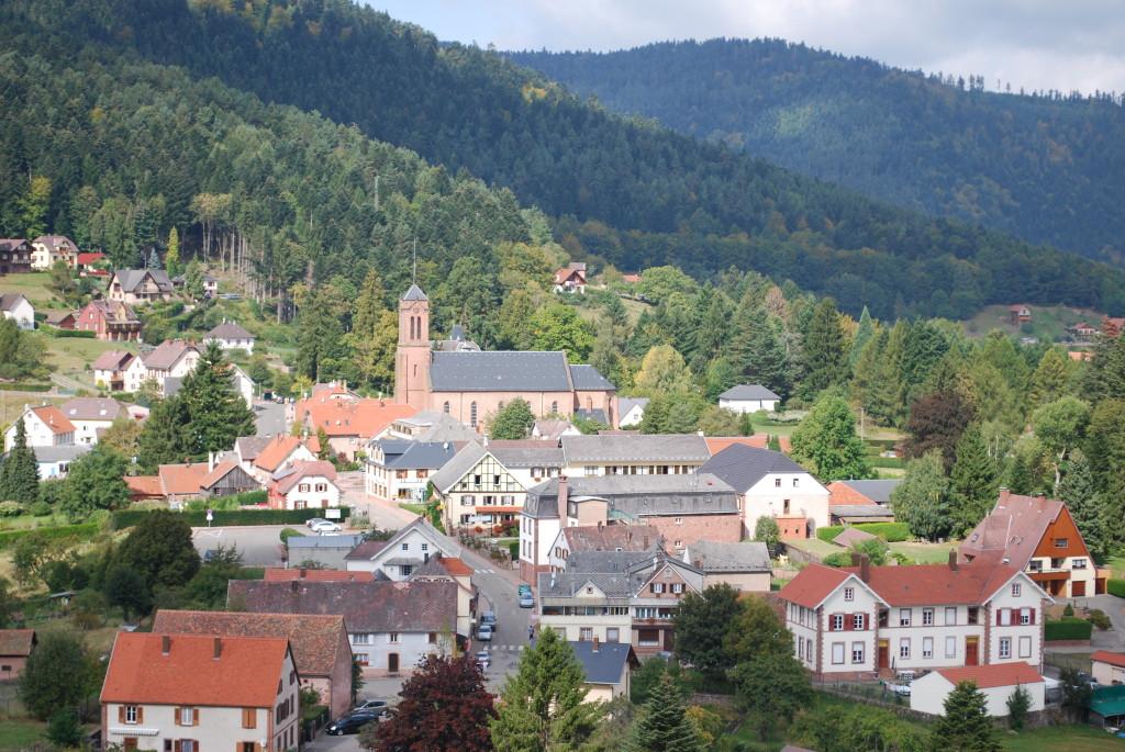 Wangenbourg vue du donjon