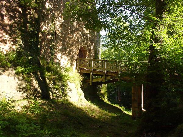 Entrée du château de Wangenbourg