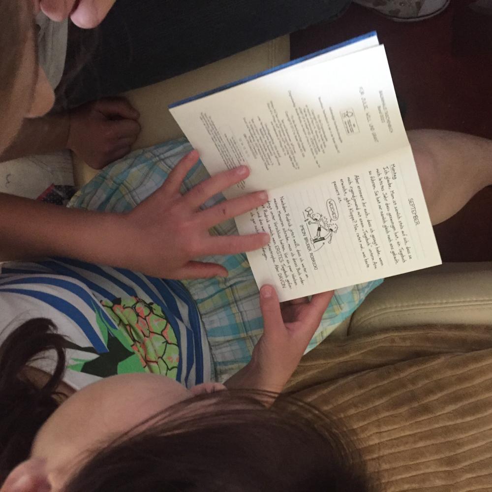 In welchem Buch sind den soviele Zeichnungen drin - sieht ja aus wie ein Tagebuch!