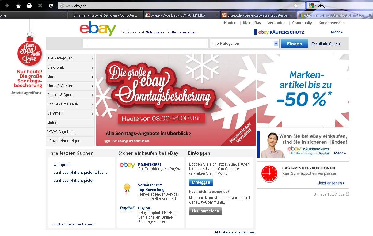 Ebay partnersuche
