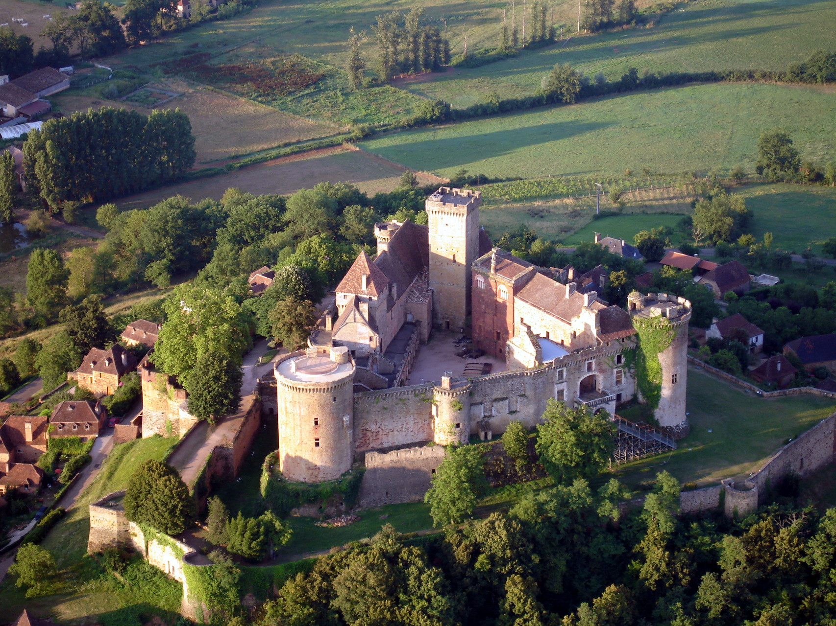 Château de Castelnau Bretenoux