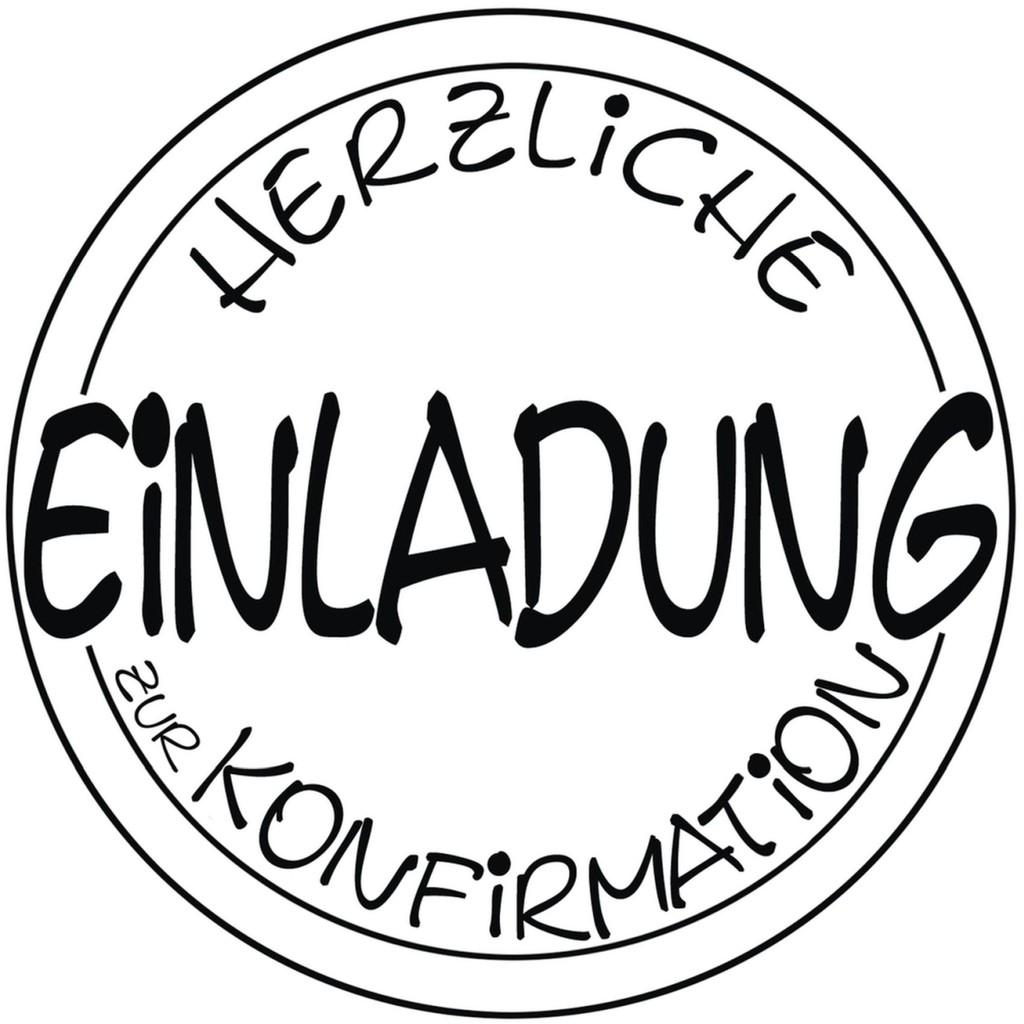 Stempel für Kommunion & Konfirmation - Bienis Basteloase ...