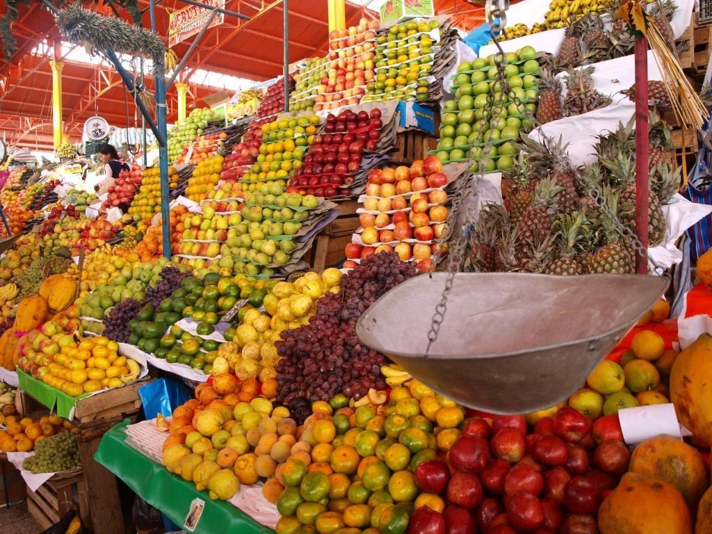 Der Mercado in Arequipa. Lecker, frisch und günstig