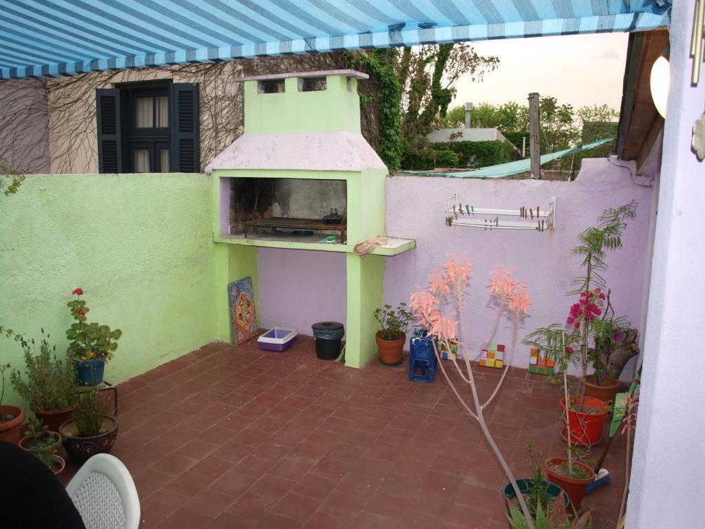 schöner farbiger Balkon