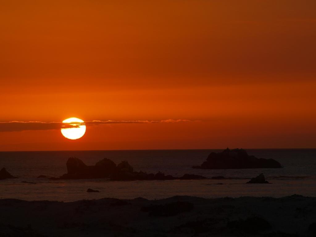 zum Abschluss von Chile wiedermal einen Sonnenuntergang