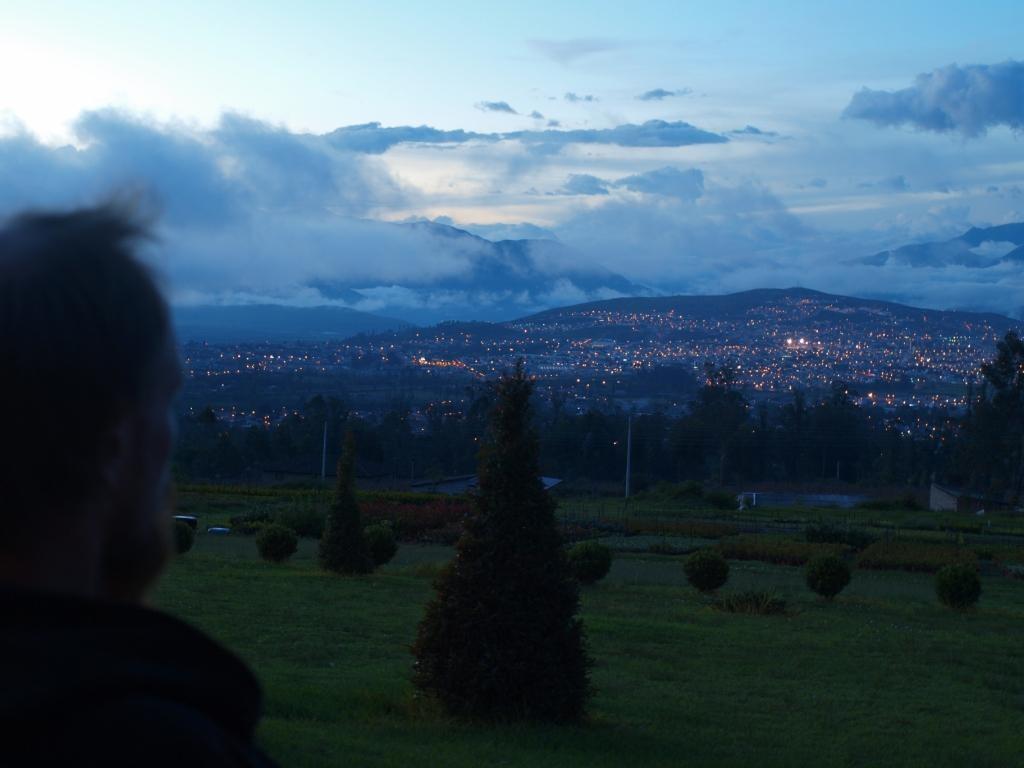 letzte Nacht in Ecuador, wie wird wohl Kolumbien???