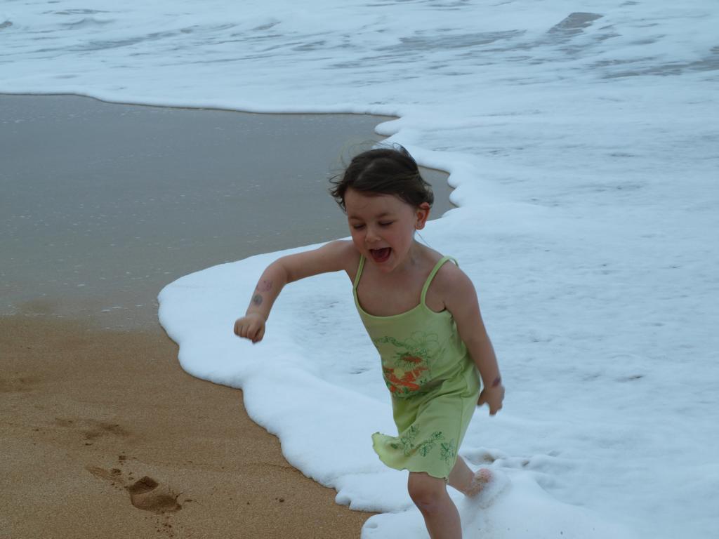 Wettrennen mit dem Meer