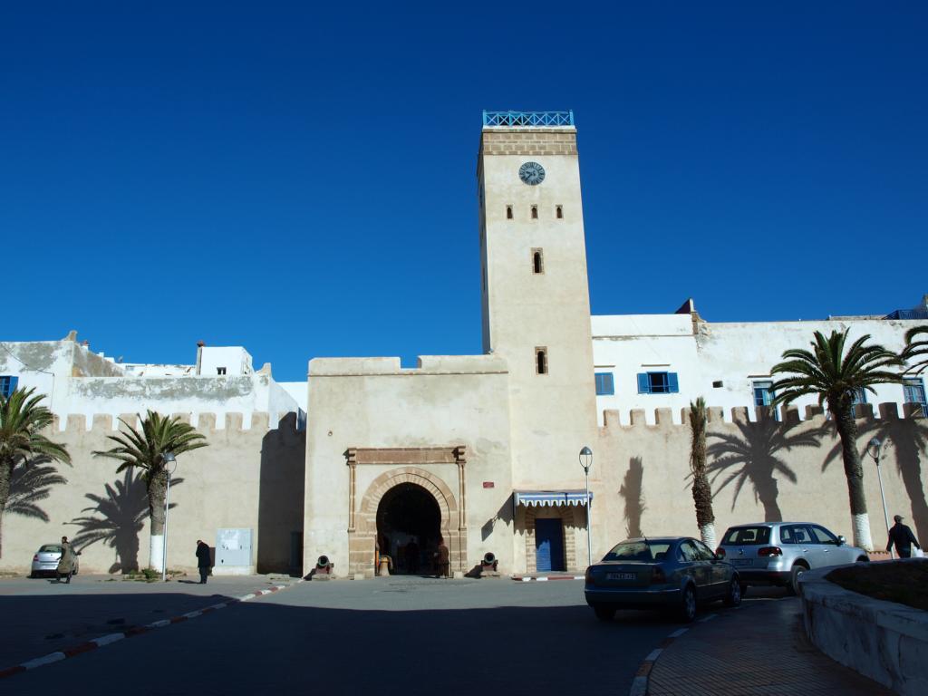 Die schöne Medina von Essaouira aussen