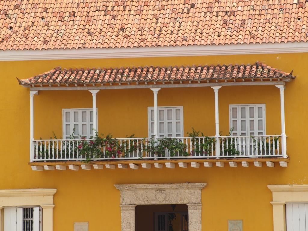 mit ihren vielen hübschen Balkone